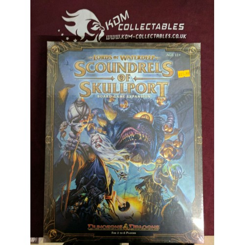 D&D - Lords of Waterdeep - Scoundrels of Skullport Expansion