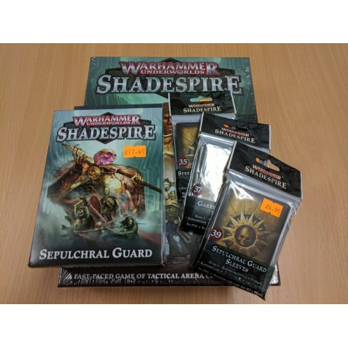 Warhammer Underworlds: Shadespire - Sepulchral Guard Bundle