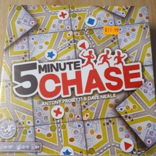 5 Minute Chase: Board Games