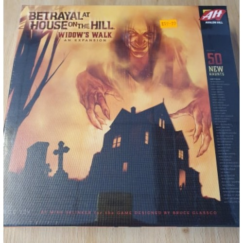 Betrayal at House on The Hill Widows Walk: Board Games
