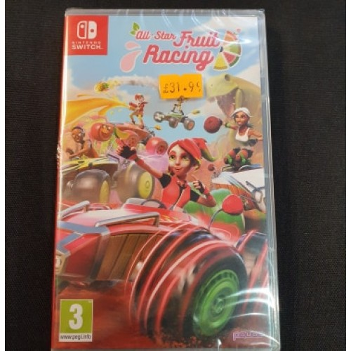All Star Fruit Racing: Nintendo Switch