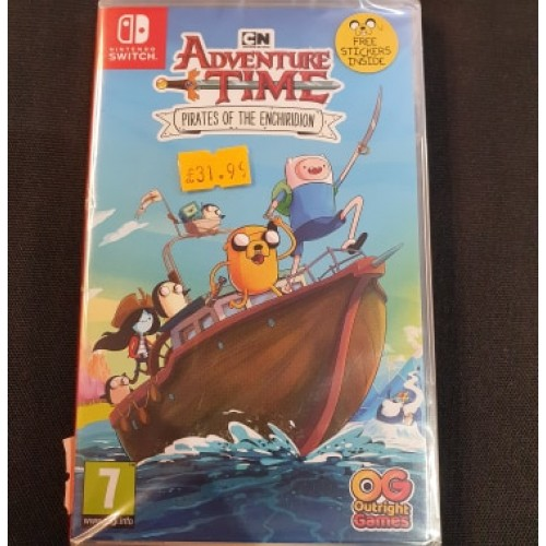 Adventure Time Pirates of The Enchiridion: Nintendo Switch