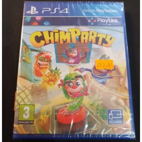 Chimparty: Playstation 4