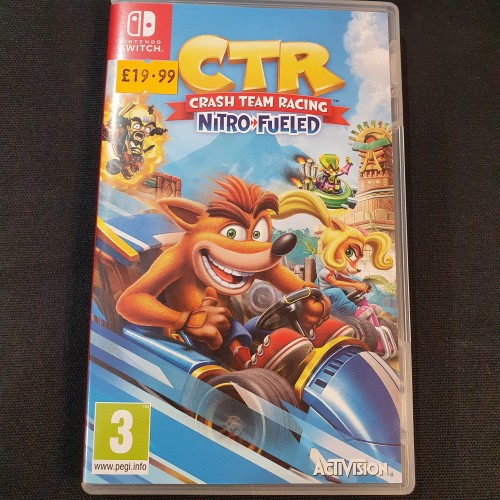 CTR Crash Team Racing: Nintendo Switch