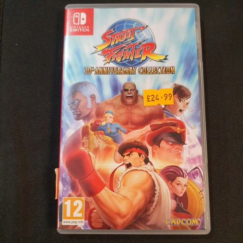 Street Fighter 30th Anniversary: Nintendo Switch