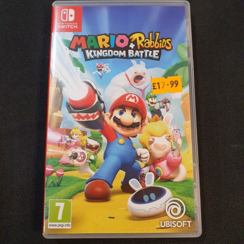 Mario + Rabbids Kingdom Battle: Nintendo Switch