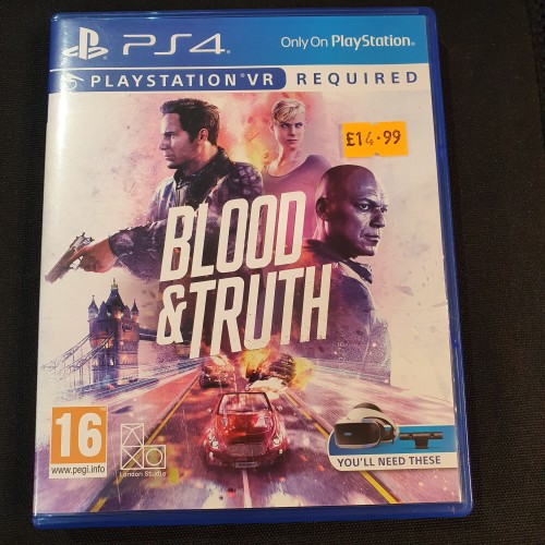VR Blood & Truth: PS4
