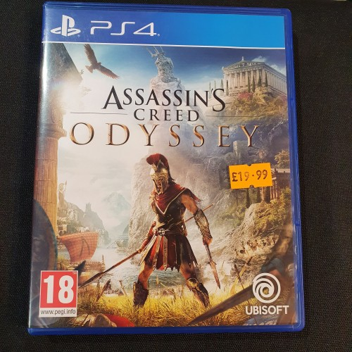 Pre Owned Copy Of Assassin S Creed Odyssey Ps4