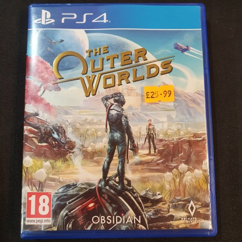 The Outer Worlds: PS4