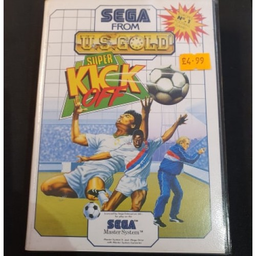 Super Kick Off: Sega Master System