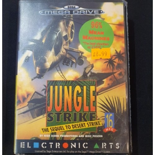 Jungle Strike: Sega Megadrive