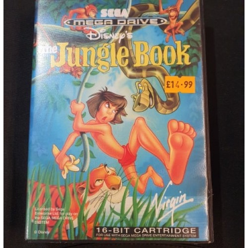 Disney's Jungle Book: Sega Megadrive