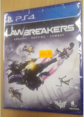 Lawbreakers PS4