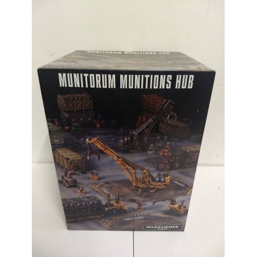 Munitorum Munitions Hub (Games Workshop Scenery)