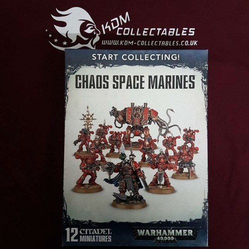 Warhammer 40,000 Start Collecting! 'Chaos Space Marines'