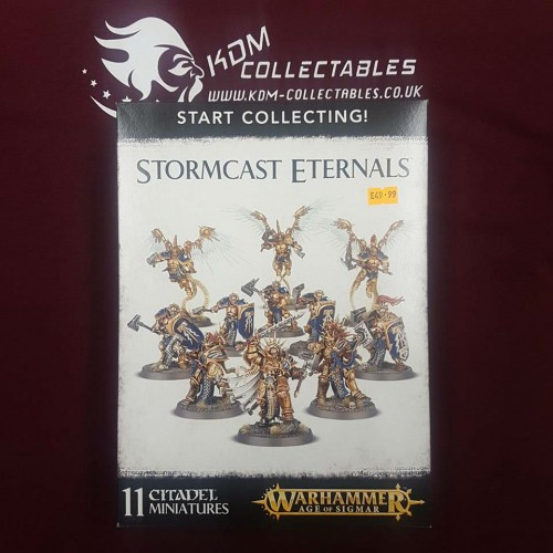 Warhammer Age of Sigmar Start Collecting! 'Stormcast Eternals'