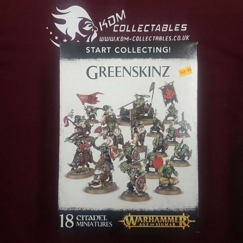 Warhammer Age of Sigmar Start Collecting! 'Greenskinz'
