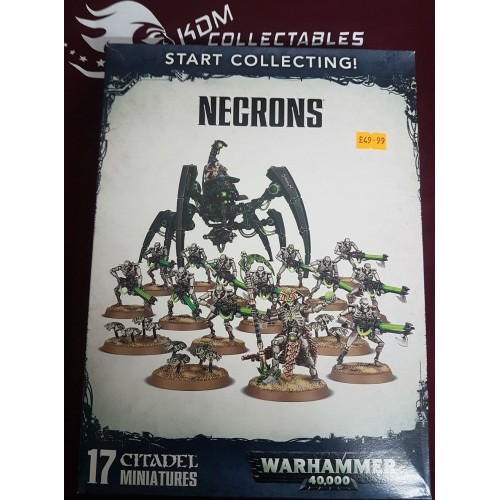 Warhammer 40,000 Start Collecting! 'Necrons'
