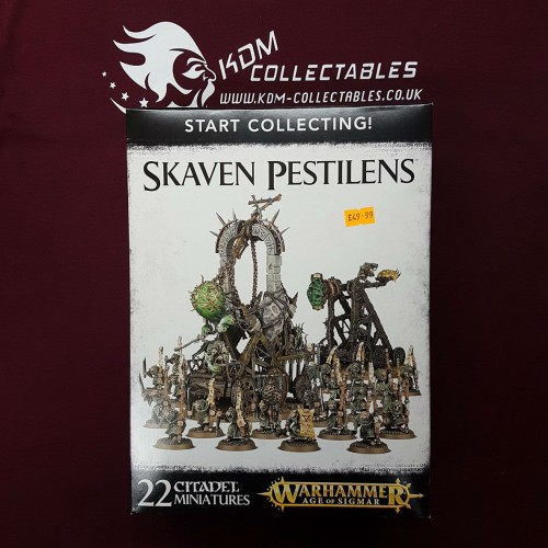 Warhammer Age of Sigmar Start Collecting! 'Skaven Pestilens'
