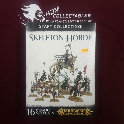 Warhammer Age of Sigmar Start Collecting! 'Skeleton Horde'
