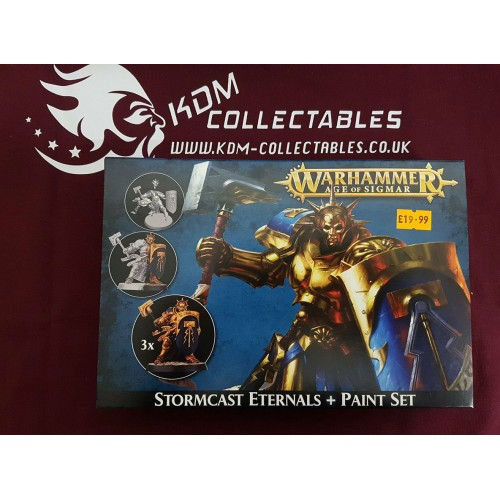 Warhammer Age of Simar 'Stormcast Eternals + Paint Set'