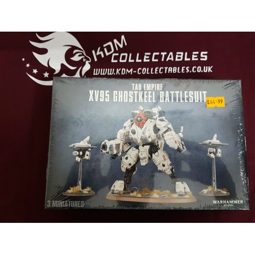 Warhammer 40,000 'Tau Empire XV95 Ghostkeel Battlesuit'