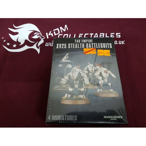 Warhammer 40,000 'Tau Empire XV25 Stealth Battlesuits'