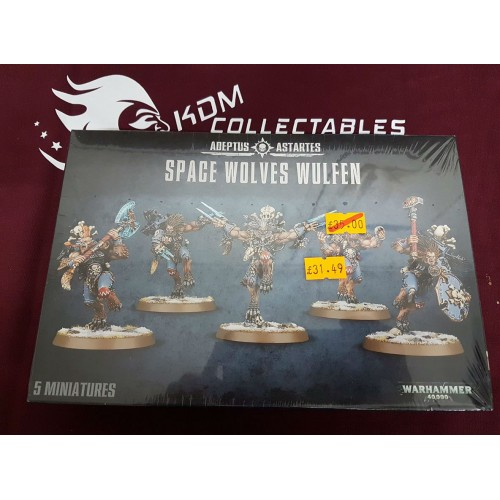 Warhammer 40,000 'Space Wolves Wulfen'