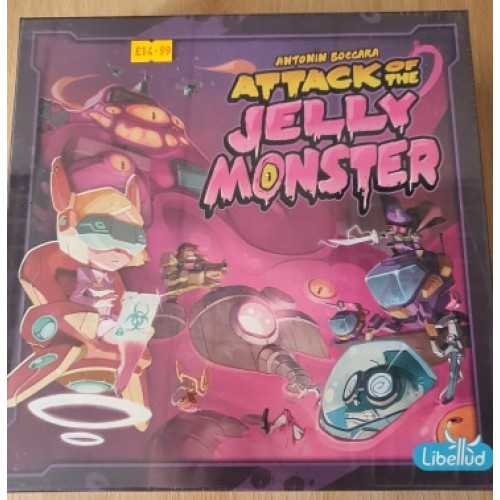 Attack of The Jelly Monster: Board Games